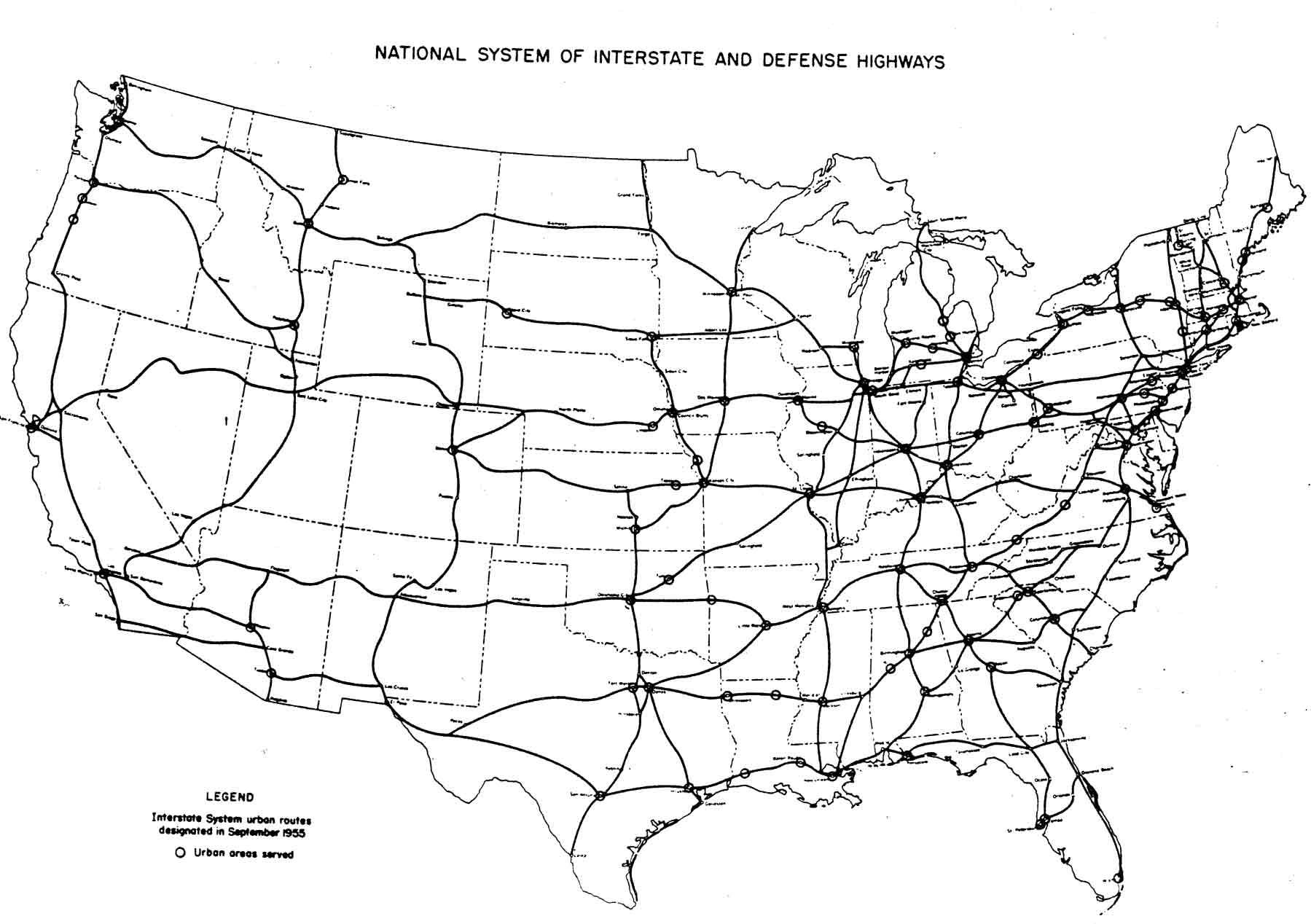 File Interstate Highway Plan September 1955 Jpg Wikimedia Commons
