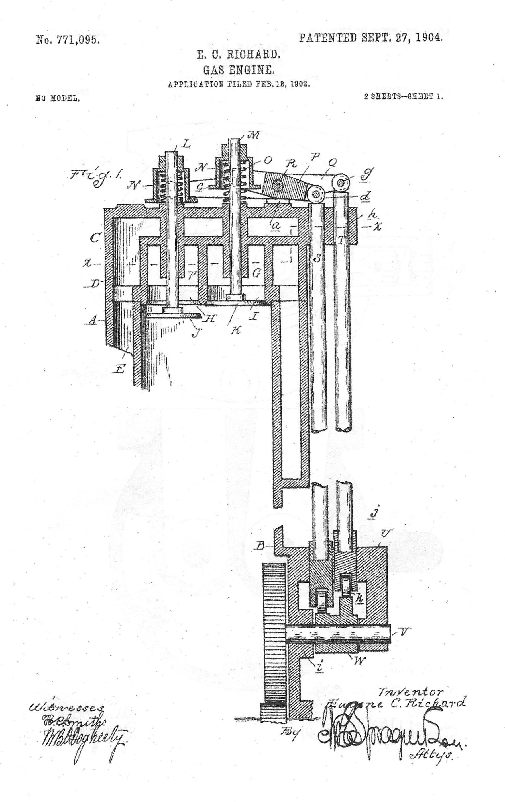 File Valve In Head Patent