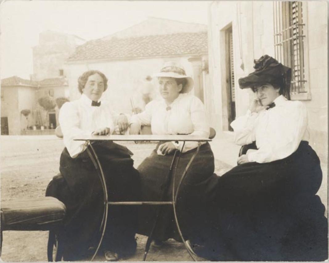 Claribel Cone, Gertrude Stein, Etta Cone 1903