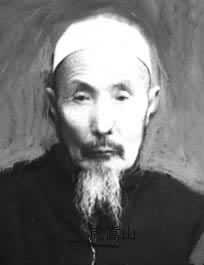 Chinese muslim ahong (imam) Hu Songshan, and y...