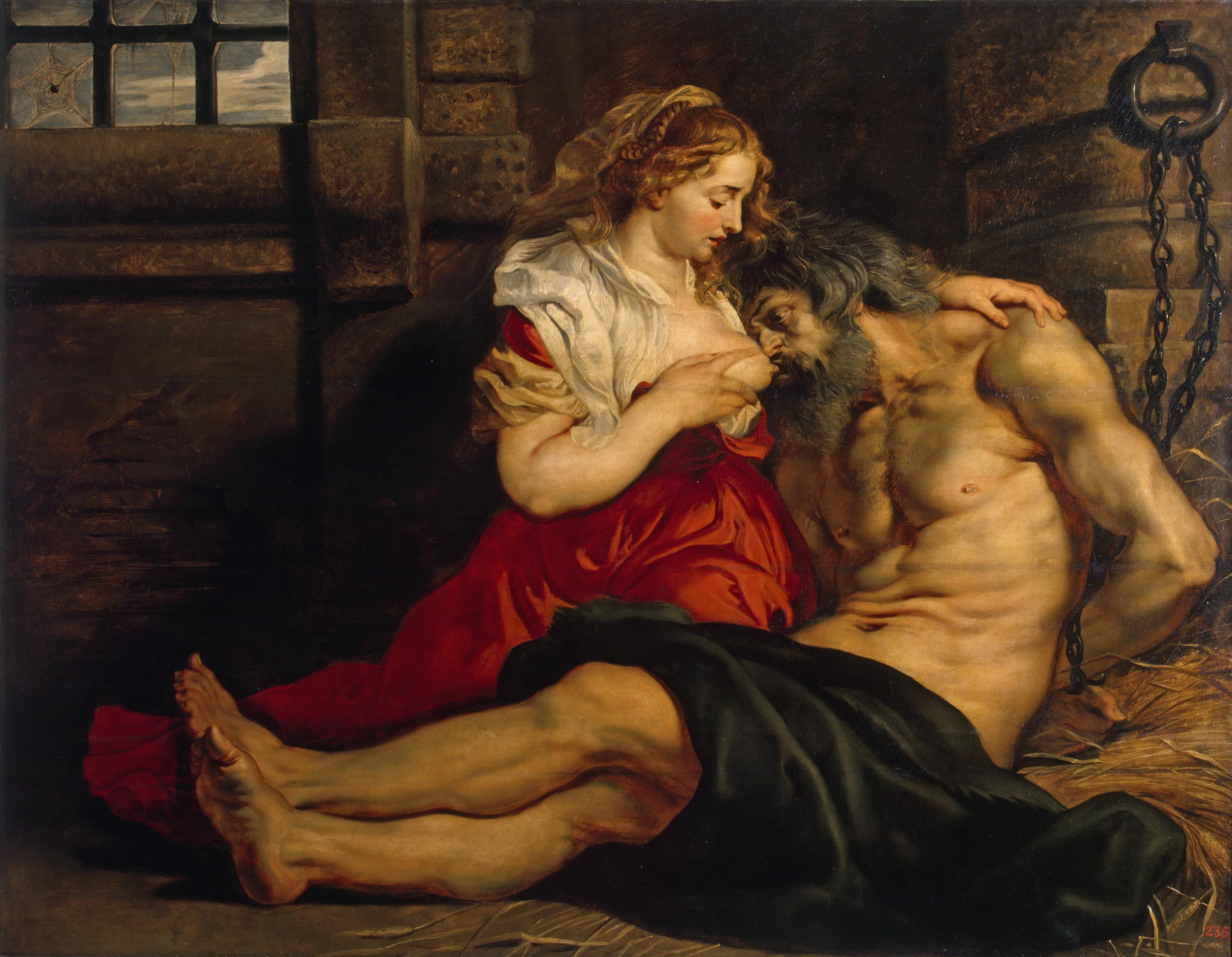 La caridad romana.