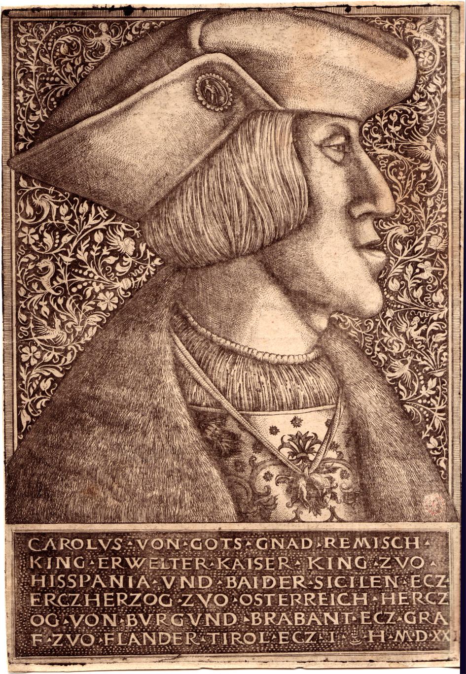 Bildnis Karl V. im Profil