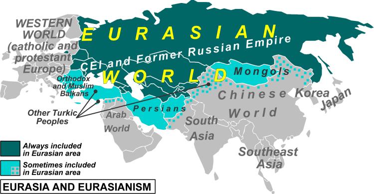 """Résultat de recherche d'images pour """"union eurasiatique carte"""""""