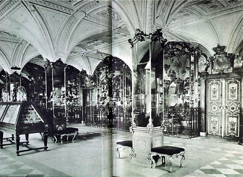 Pretiosensaal, 1904 (Scan eines alten Fotos)