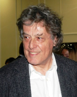 Tom Stoppard on a reception in honour of the p...