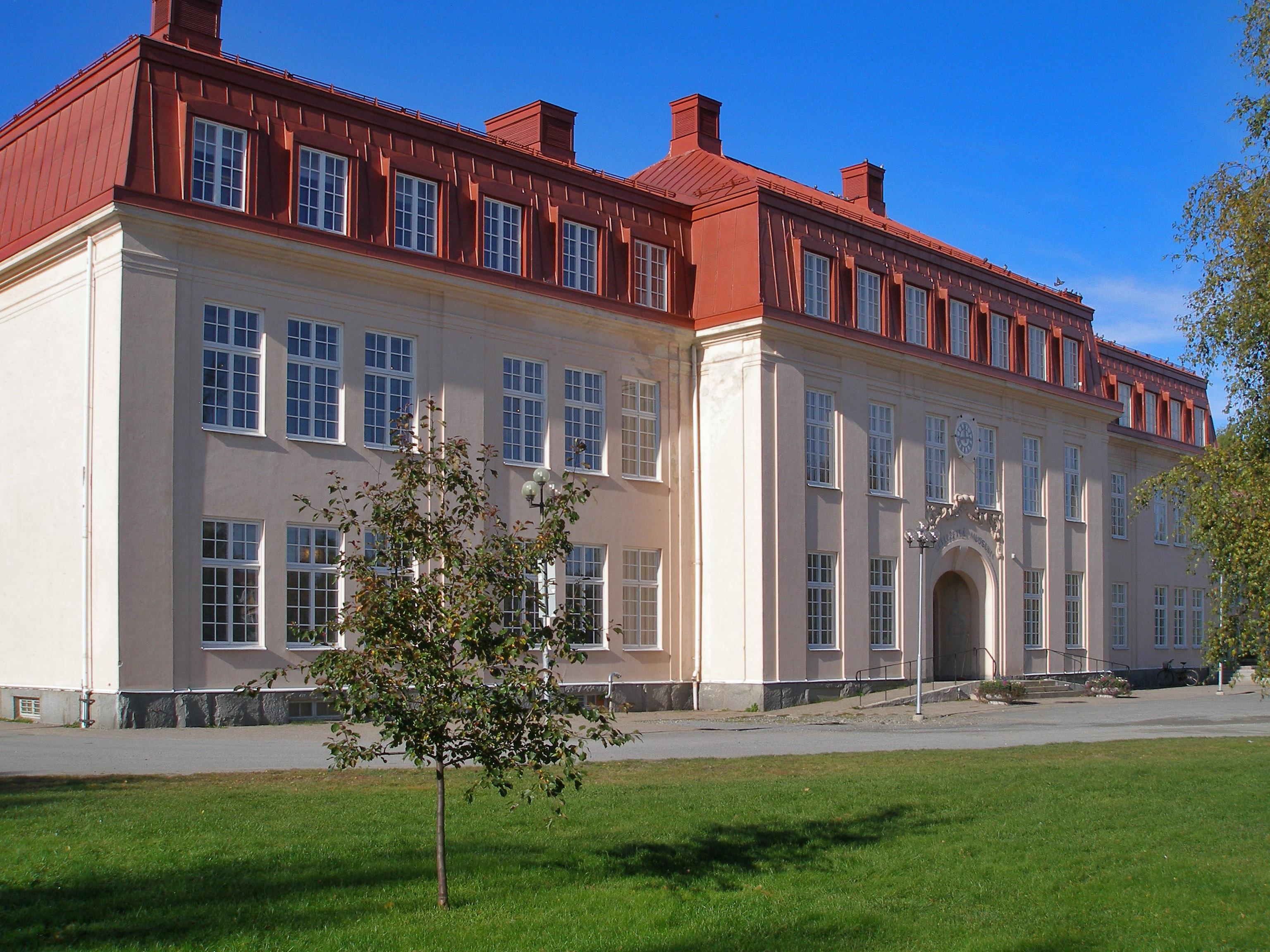 Nordanå Museum in Skellefteå, Sweden