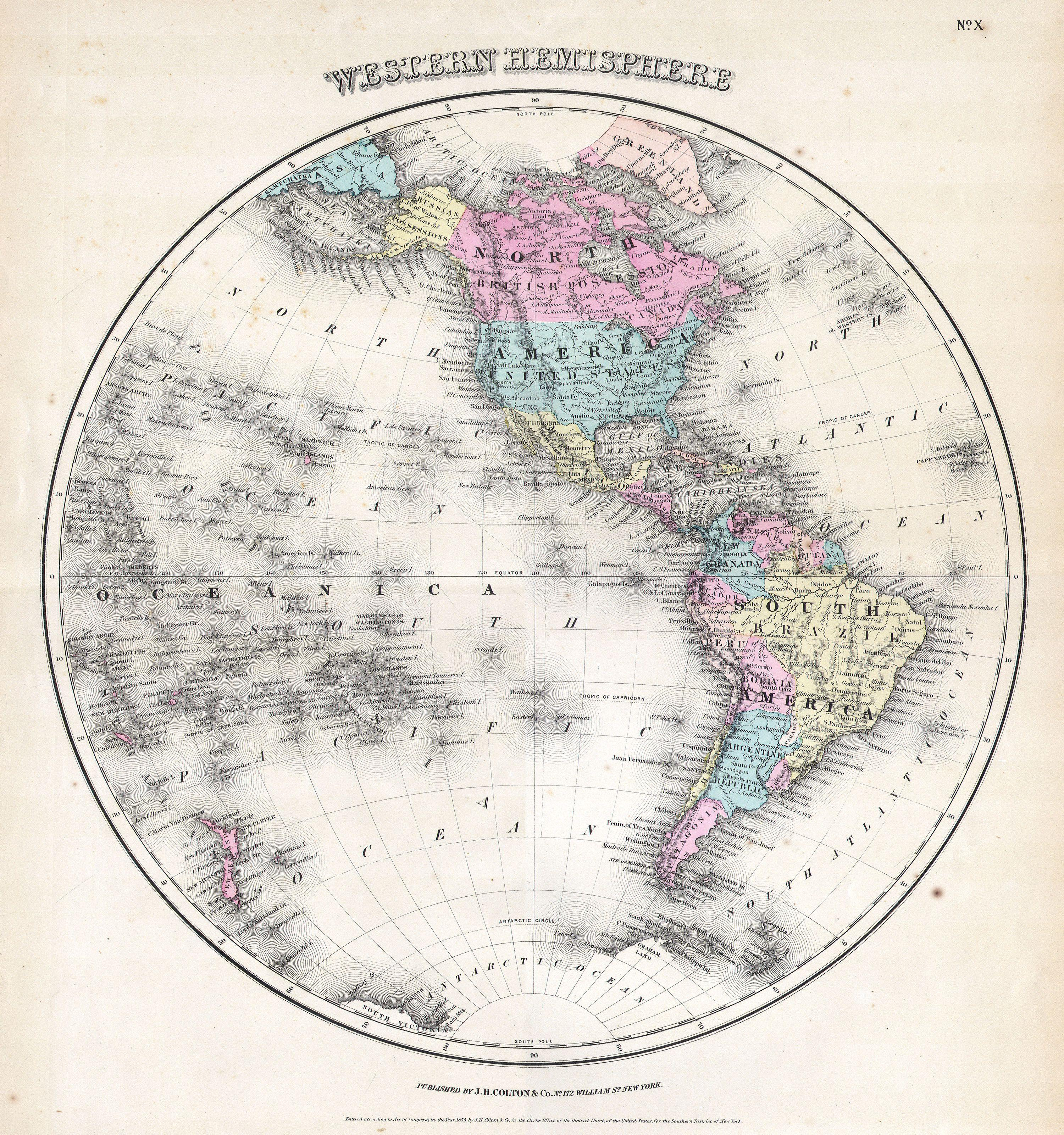 File Colton Map Of The Western Hemisphere