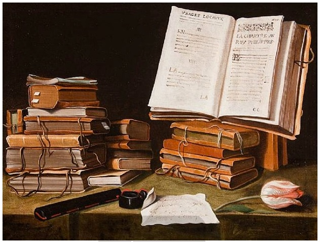 FileCharles Emmanuel Biset Still Life With Books A