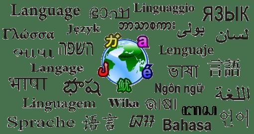 Globe of language