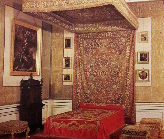 Filekings Bedroom In The Wilanow Palace Jpg