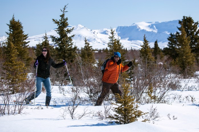 Image result for snowshoeing