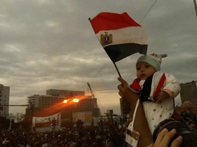 File:A baby Egyptian protesting the government.png