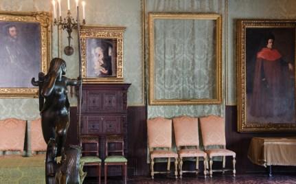 Empty Frames at Isabella Stewart Gardner Museum