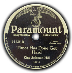 English: A record of King Solomon Hill's Times...