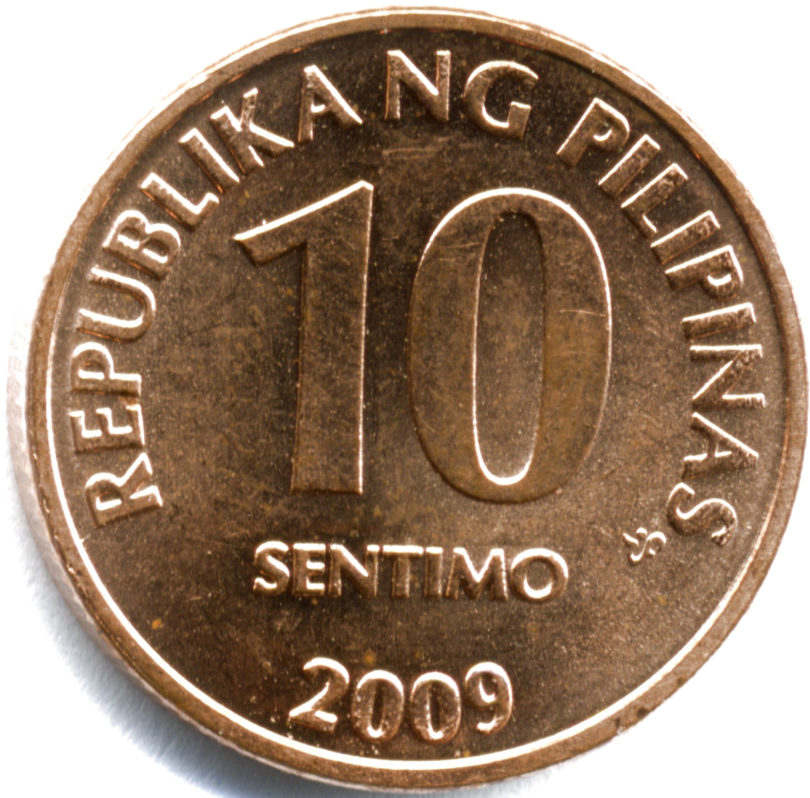 Philippine Ten Centavo Coin