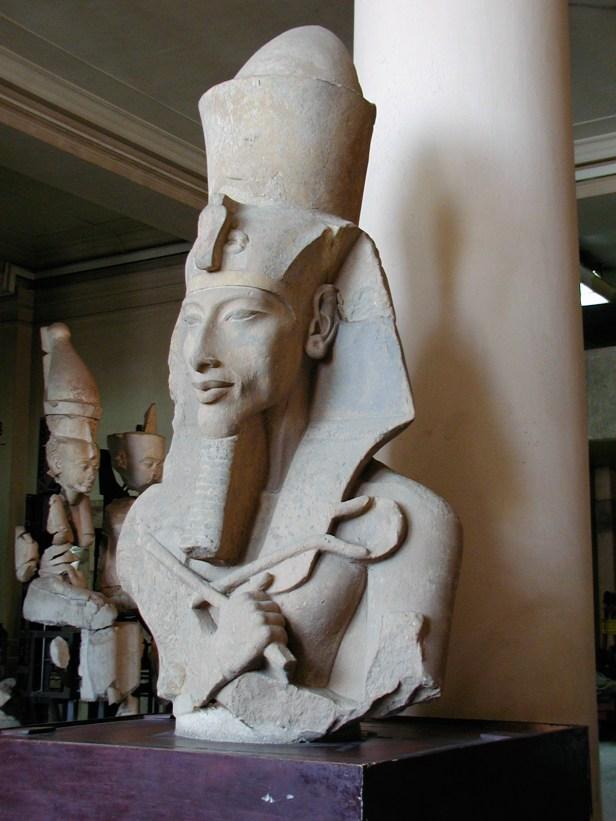 Colossal Statues of Akhenaten