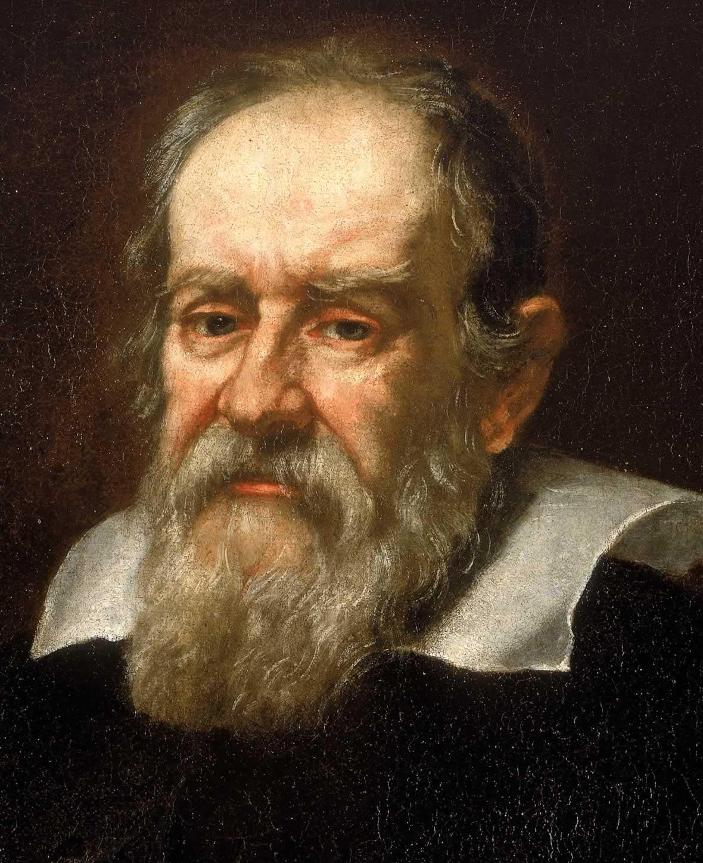 Retrato de Galileo Galilei, por Giusto Sustermans. Crédito: Wikipedia Commons.