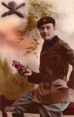 Militaire-un soldat-1915