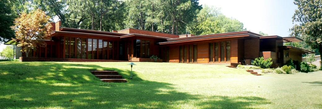 Rosenbaum House, Usonian, Florence, Alabama, Frank Lloyd Wright,1940.