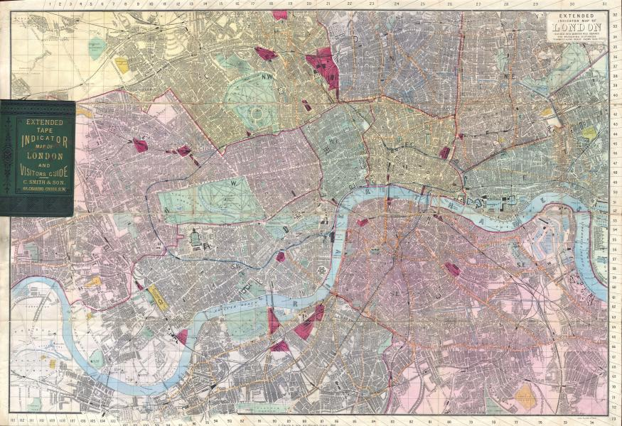 File 1892 Smith s Pocket Map of London  England   Geographicus     File 1892 Smith s Pocket Map of London  England   Geographicus    London smith