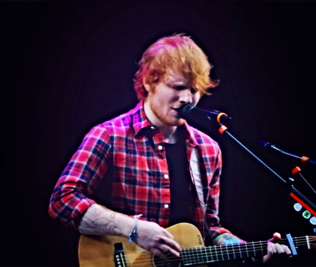 Sheeran Often Wears Hoodies Or Tartan Shirts And Frequently Donates His Clothes To Charity Shops In Suffolk