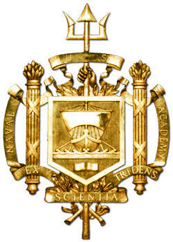 United States Naval Academy Coat of Arms.