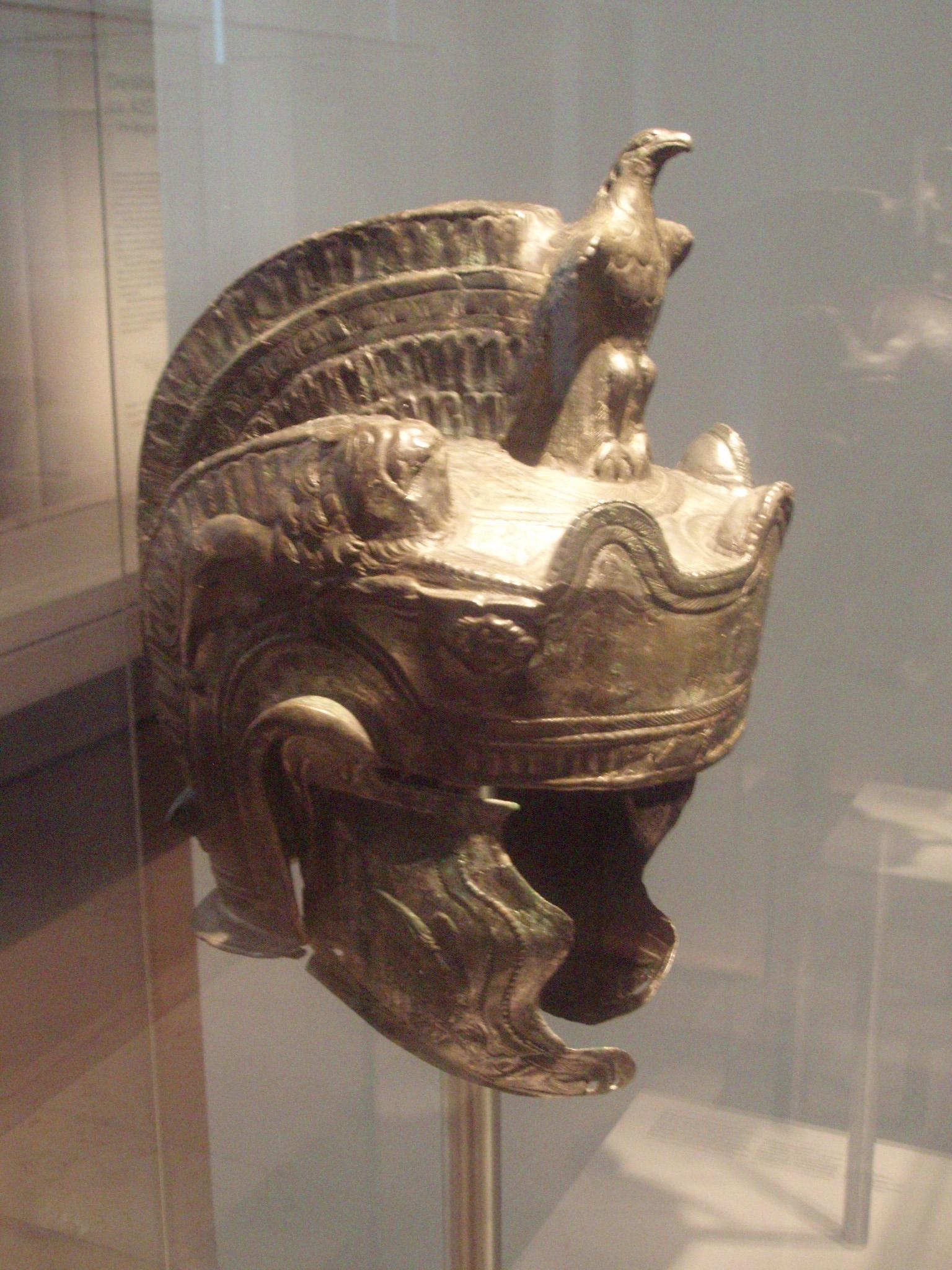 Roman parade helmet.