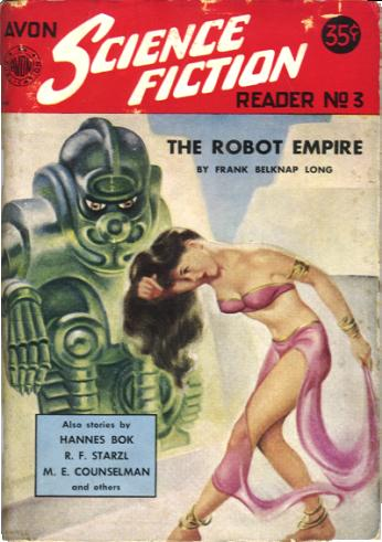 The Robot Empire, Avon Science Fiction Reader cover
