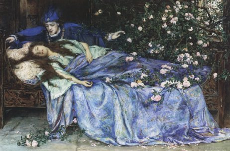 Sleeping Beauty Henry Meynell Rheam