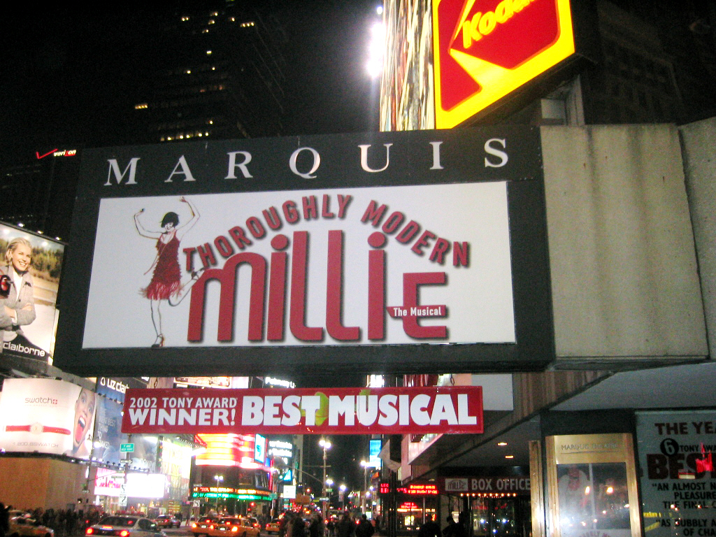 New York's Marquis Theater circa 2003