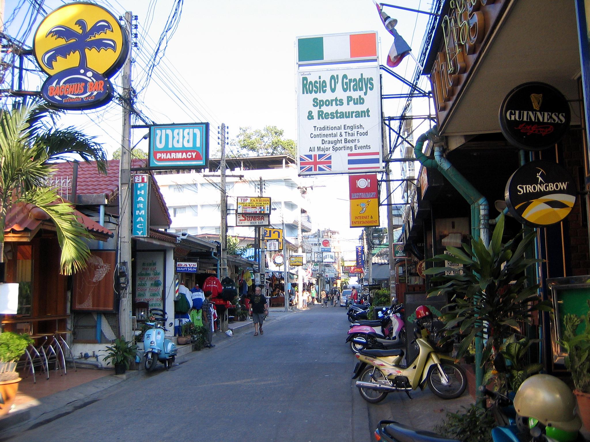 Pattaya Soi 7, Thailand.