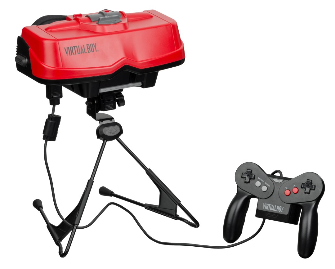 A Nintendo Virtual Boy and Controller