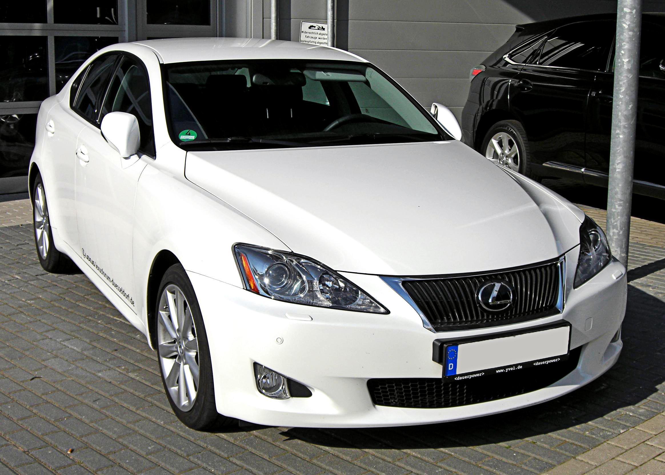 File Lexus Is250 Facelift Front