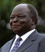 Kenyan President Mwai Kibaki on the South Lawn...