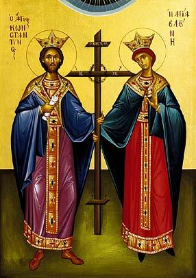 English: Saints Constantin and Saint Helen