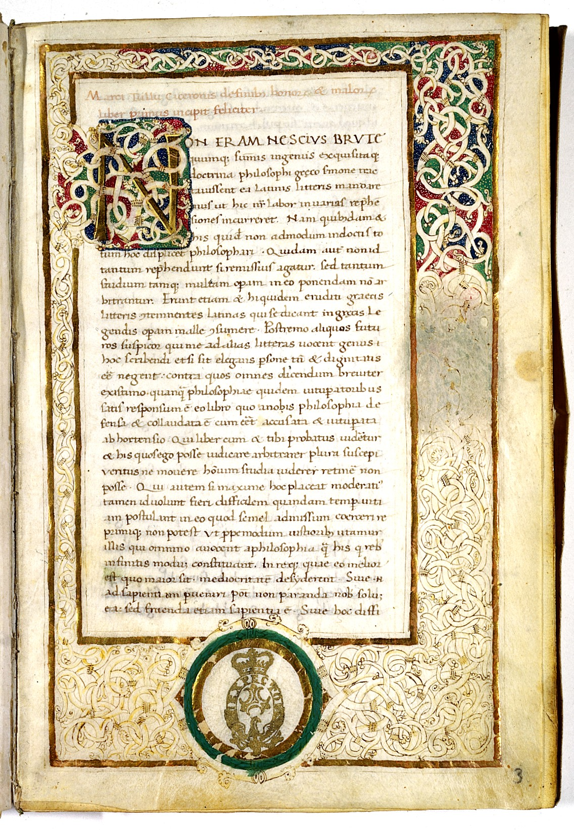 De Finibus Bonorum Et Malorum Wikipedia
