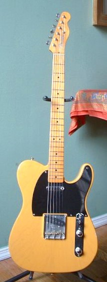 Fender Telecaster. Quelle http://nl.wikipedia....