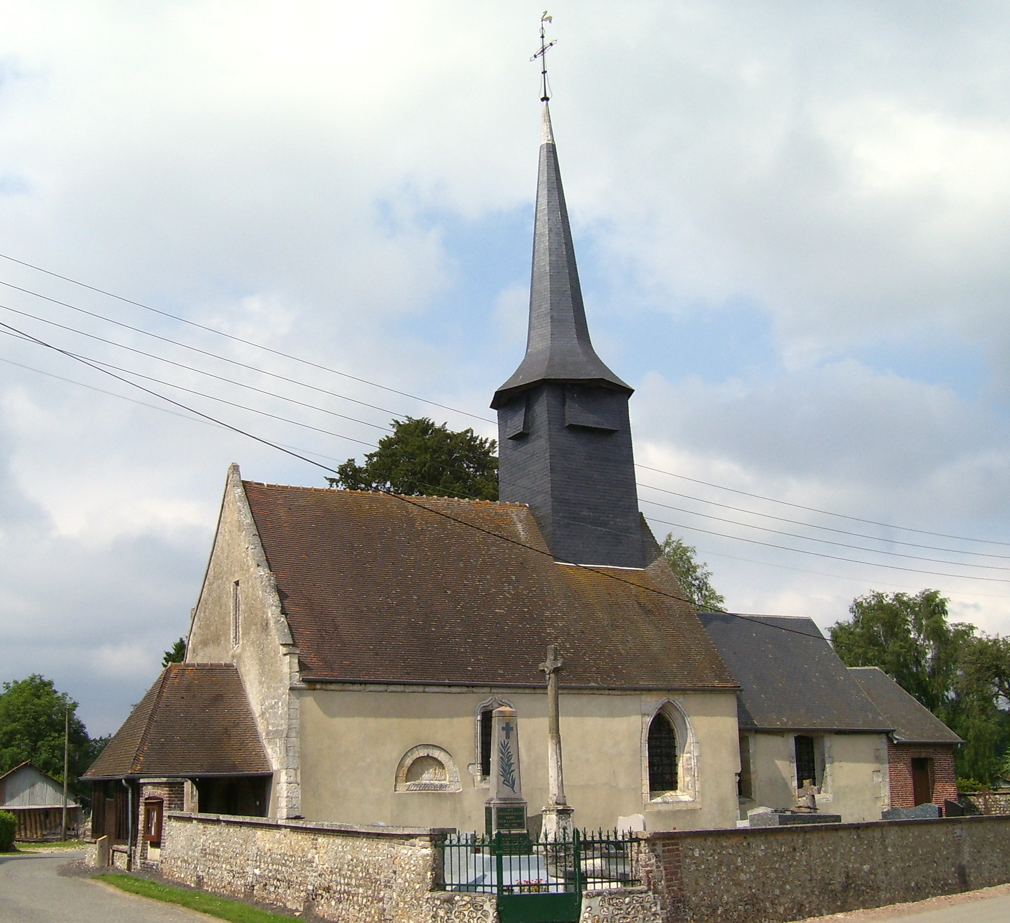 Église Saint-Rémi, eigenes Foto, Lizenz:public domain/gemeinfrei