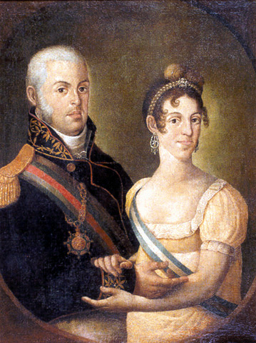 D. João e Carlota Joaquina