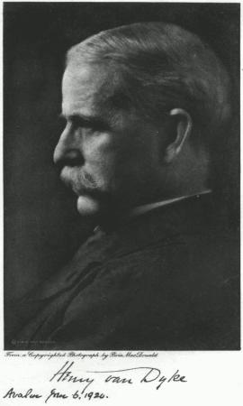 Henry van Dyke (1852-1933), a modernist who pu...