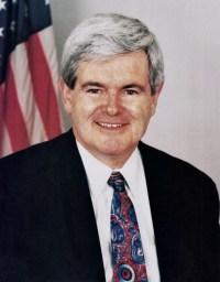 Newt Gingrich, Speaker of the House. November ...