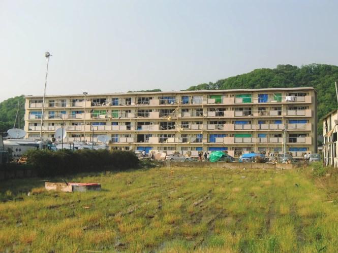 Tornado Damage To Apartment In Tsukuba