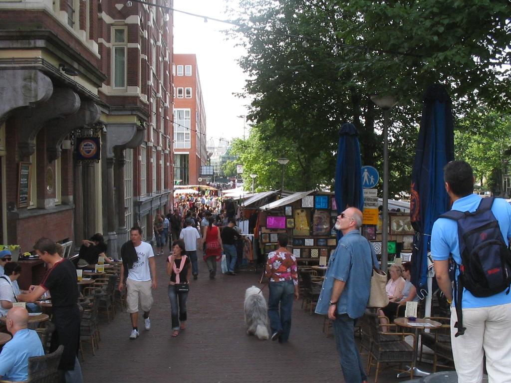 Fleamarket, Waterlooplein, Amsterdam