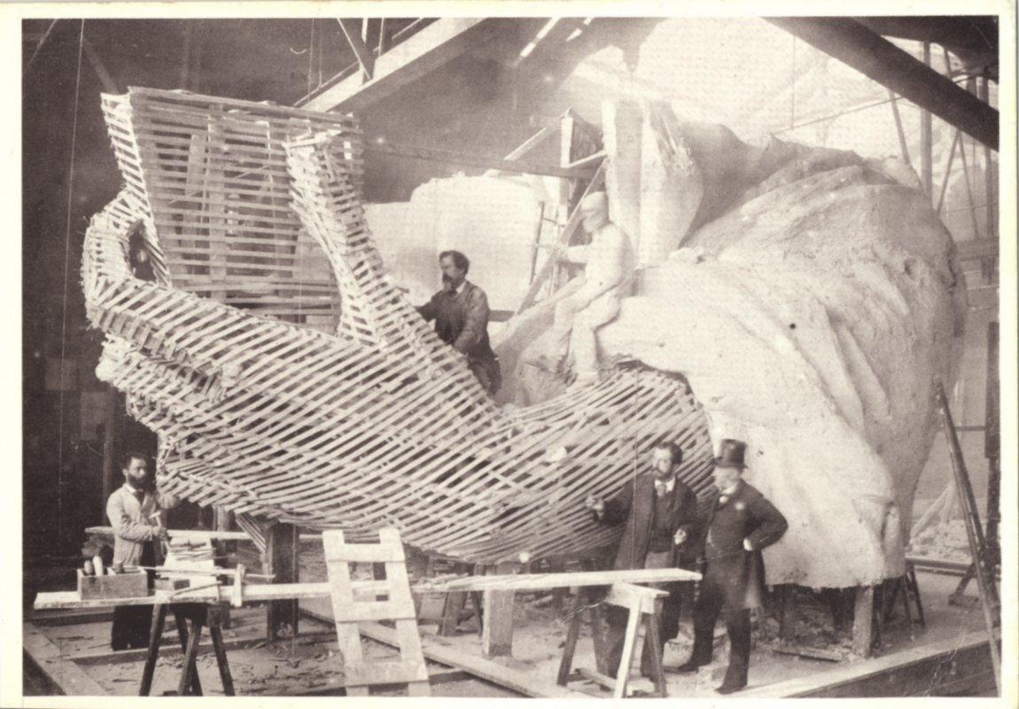 """Résultat de recherche d'images pour """"bartholdi statue de la liberté"""""""