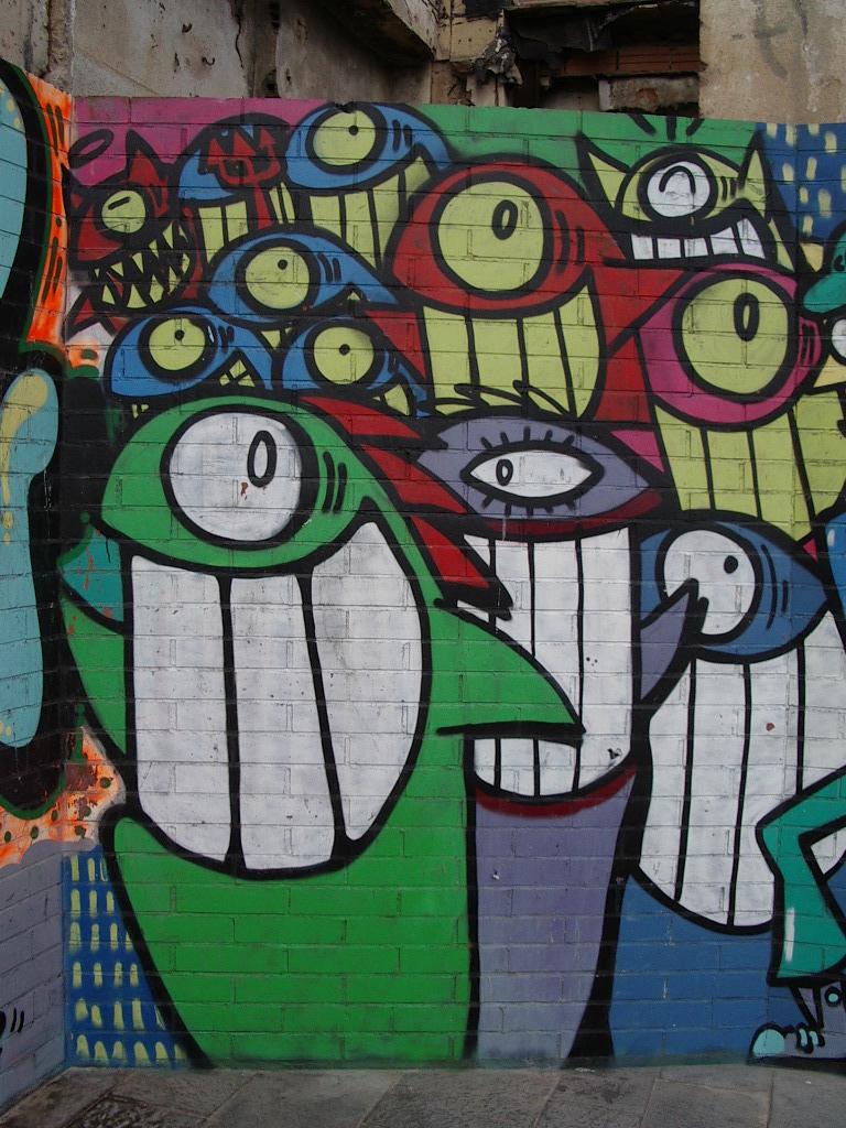 A Arte Grafitti usada para expressar emoções e pensamentos.