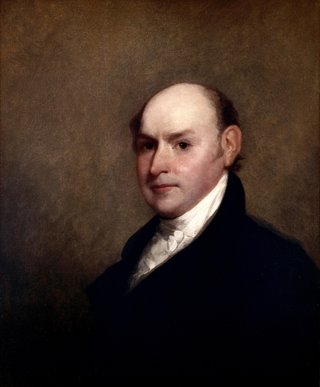 File John Quincy Adams By Gilbert Stuart