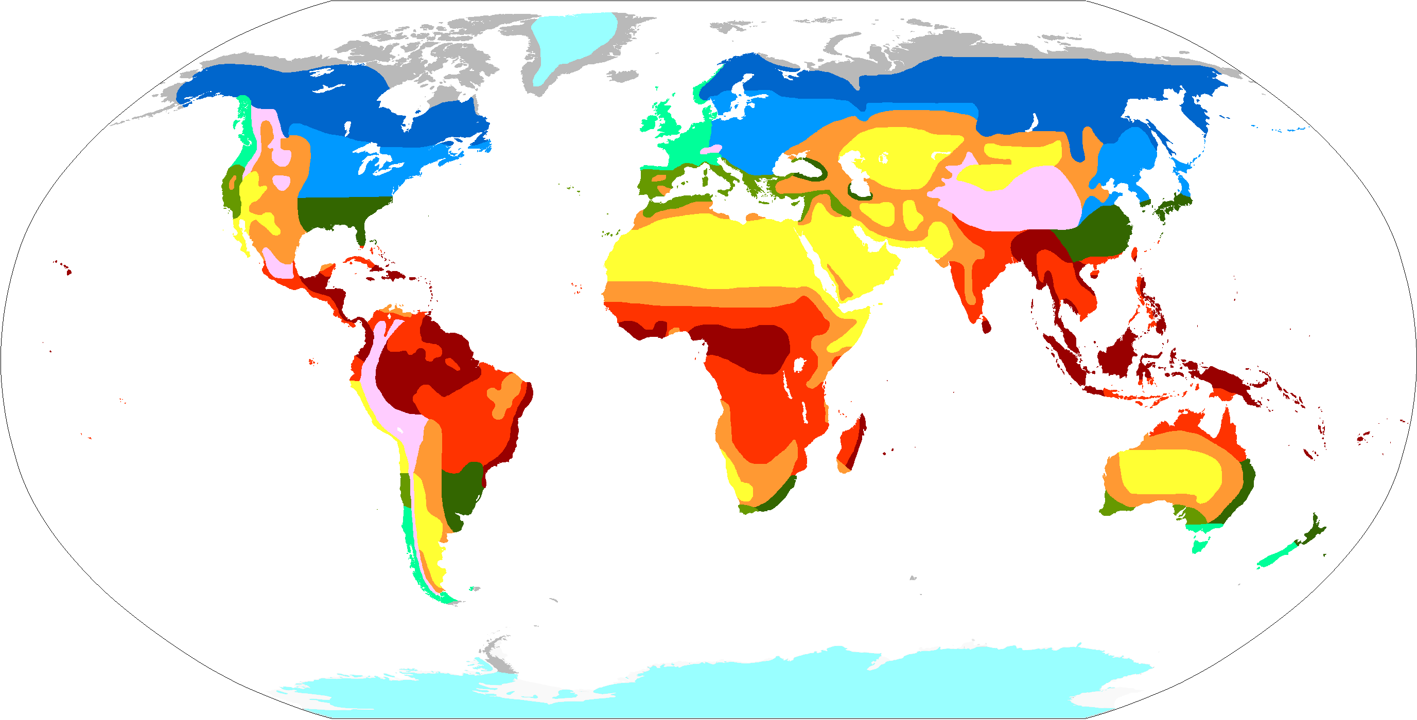 File Trewartha Climate Classification World Map