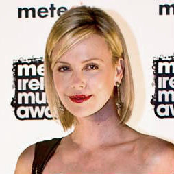 Charlize Theron at the Meteor Ireland Music Aw...