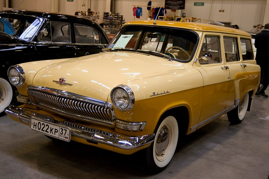 1958 ford cars » GAZ Volga   Wikipedia GAZ 22   the Shed edit
