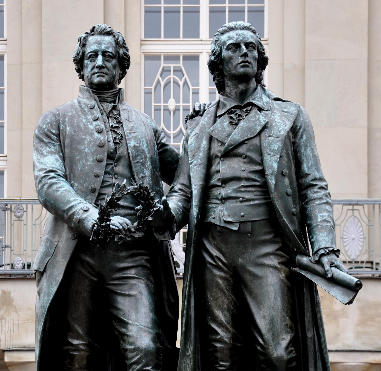 FileWeimar Goethe Schiller Denkmal 2012 02jpg Wikipedia